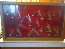 Collection Of 12 Schrade Cutlery Knives
