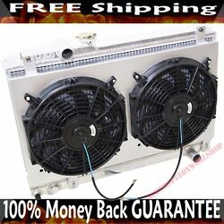 Radiator And Fans And Shroud Fits 86-92 Toyota Supra Base/ Turbo Hatchback 2d Manual