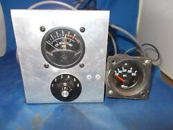 Cht Guage W/selector And Oil Temp Guage No Probes