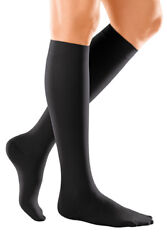 Duomed Soft Below Knee Black Or Sand Support Stockings Varicose Vein Compression
