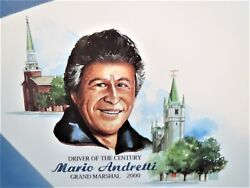 Mario Andretti, Nazareth 2000, Ford Cart 1993 Racing Posters Both Mint And Rare