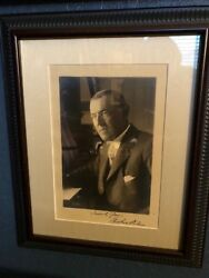 Autographed Woodrow Wilson Photograph In Fine Condition
