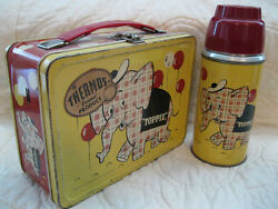 LARGEST RARE VINTAGE METAL LUNCHBOX COLLECTION!  TOPPIE AND ALL THE REST!