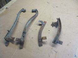 1957 Buick Century Special Coupe 1/4 Glass Window Track Setup