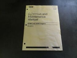 Caterpillar Cat A19b And A26b Augers Operation And Maintenance Manual  2005