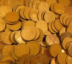 Lincoln Wheat Penny Rolls 1909 Through 1929 Only  --  No 30's,40's Or 50's