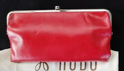 NWT Hobo International Lauren WalletClutch Double Frame    Geranium