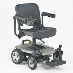 I-go Crest Css Suspension Electric Wheelchair With Swivel Seat And Control Panel