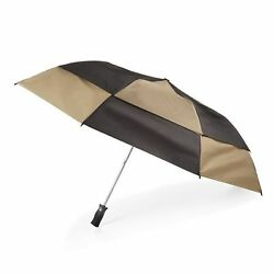 Storm Beater Umbrella by totes (BlackKhaki)