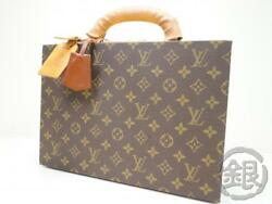 AUTH PRE-OWNED LOUIS VUITTON LV VINTAGE MONOGRAM BOITE BIJOUX TRUNK No.93 150594