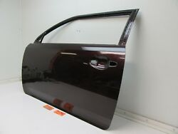 CAR DOOR PANEL SHELL LEFT LH DRIVER SIDE 3R0 RED MAROON BODY fits 11-16 SCION TC