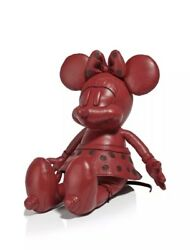 ❤️ Disney x Coach Small Leather Minnie Mouse Doll Red In Original Packaging