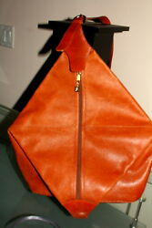 Mark Cross Pebble Leather Cross Body Bag Purse Body Bag Back Pack SRP$2695