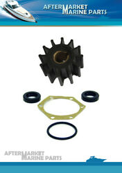 Impeller Kit For Volvo Penta Aq165a Aq170a Replaces 875575 21951350 827247