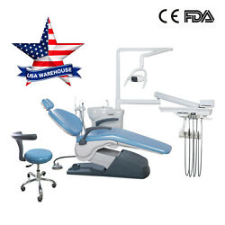 FDA USA Dental Unit Chair 110V 4Holes Computer Controlled thermostatic water