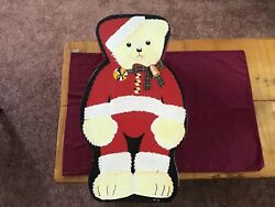 21andrdquo Haus Of Klaus Jointe Santa Teddy Bear In Handpainted Box Made In Philippines
