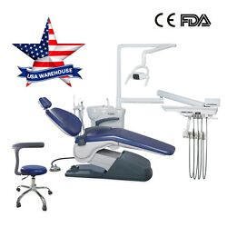 FDA USA Dental Unit Chair 110V 4Holes Computer Controlled thermostatic YY3