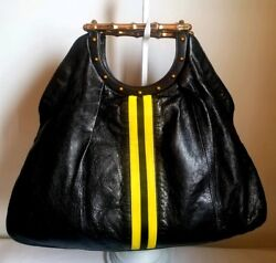Gucci Tom Ford Bamboo Leather Bag