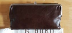 NWT Hobo International Lauren WalletClutch Double Frame    Espresso