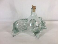 Glass Spanish Bull Shaped Collectors Bottle Ref Y376