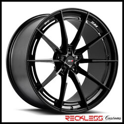Savini 20 Svf-01 Black Concave Wheel Rims Fits Ford Mustang Gt Gt500