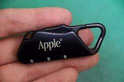 Apple Computer Logo Dial Lock Brand New Authentic Collectibles Rare From Japan