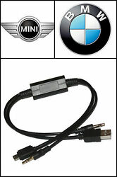 Connection Port Charge Ipod Iphone 5 Cable For Select Bmw Vehicles 61120440796