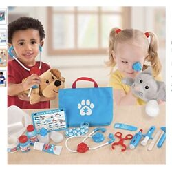 New Melissa And Doug Puzzle Deluxe Pet Care Play Set Vet Doctor Grooming Lowest