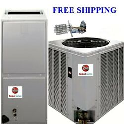 3.5 Ton 14seer Complete Electric System Condenser/air Handler With Coil