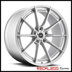 Savini 19 Svf-01 Silver Concave Wheel Rims Fits Ford Mustang Gt