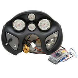 Tracker Marine F144167259 Black Outboard Boat Gauge Ignition Switch Dash Panel