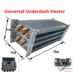 Universal Car Underdash Compact Heater 12Pcs Pure Copper Tube + Speed Switch Kit