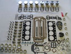 Master Engine Rebuild Kit 55 Mercury 292 V8 1955 With Pistons Rocker Arms And Cam