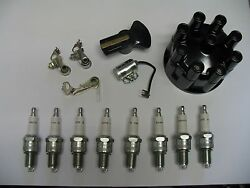 Tune Up Kit And Spark Plugs 63 64 65 Chrysler And Imperial 413 V8 1963 1964 1965