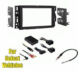 Double Din Stereo Radio Kit Combo Onstar w/+w/o Bose- retains Steering Controls