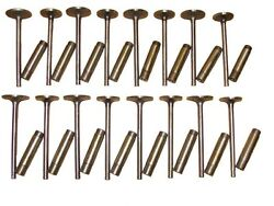 8 Intake And 8 Exhaust Valves , 16 Guides 1963 Cadillac 390 V8 New