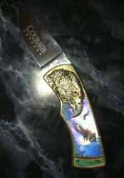 FRANKLIN MINT: EAGLE COLLECTOR KNIFE - COURAGE