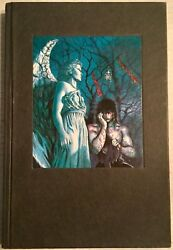 Graphitti Designs The Crow Hardcover Signed J Oand039barr 647/1500 Limited Edition