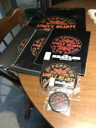 Rare Beatles Sgt. Peppers Lonely Hearts Club Band Collectible Package Apple 1993