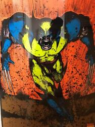 Wolverine 405 Marvel Characters 1996 Very Rare Vintage Poster Authentic Glows