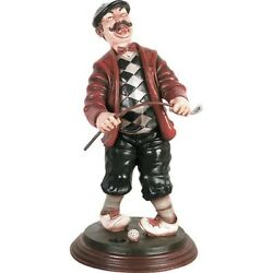 28h Classic Frustrated Golfer Golf Party Decor Novelty Display Prop Statue