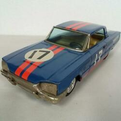 Tin Diecast Ford Thunderbirt 17 Rare Collectible Racing Car Nice From Japan F/s