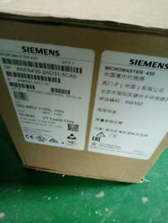 New 6se6430-2ad31-5ca0 Ship By Dhl Or Ems