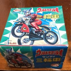 Ultra Man Leo Action Figurine Tricycle Bullmark In Box Rare Vintage Collectible