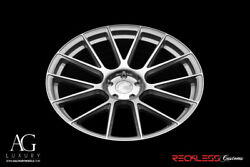 Avant Garde 22 Vanquish Silver Concave Wheel Rims Fits Cadillac Cts Coupe