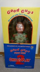 Medicom Toy Childand039s Play 2 Chucky Life Size 2002 Ver. Good Guys Prop Size Unused