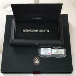 Parker Fountain Pen Snake Limited Edition Of 5000 18k Gold Rare From Japan F/s