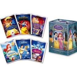 Disney Princess Complete Dvd Box Very Good Condition Rare From Japan F/s