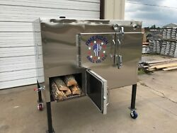 Srs Insulated 36 X 36 Rotisserie Smoker - Call Before You Buy