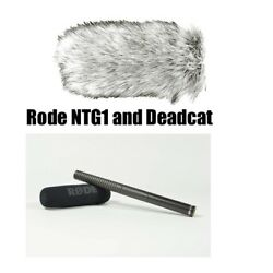 RODE NTG-2 and Deadcat Dead Cat Condenser Shotgun Microphone Package NTG2 BSTOCK